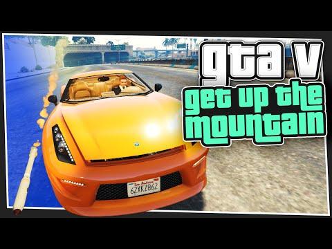 GTA 5 Online - Go Up The Mountain (with Simon)