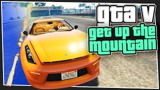 GTA 5 Online - Go Up The Mountain (with Simon)