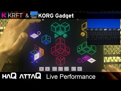 Bae │ KRFT and KORG Gadget iPad performance - haQ attaQ