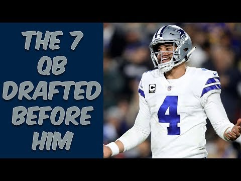 Who Were The 7 Quarterbacks Drafted Before Dak Prescott? Where Are They Now?