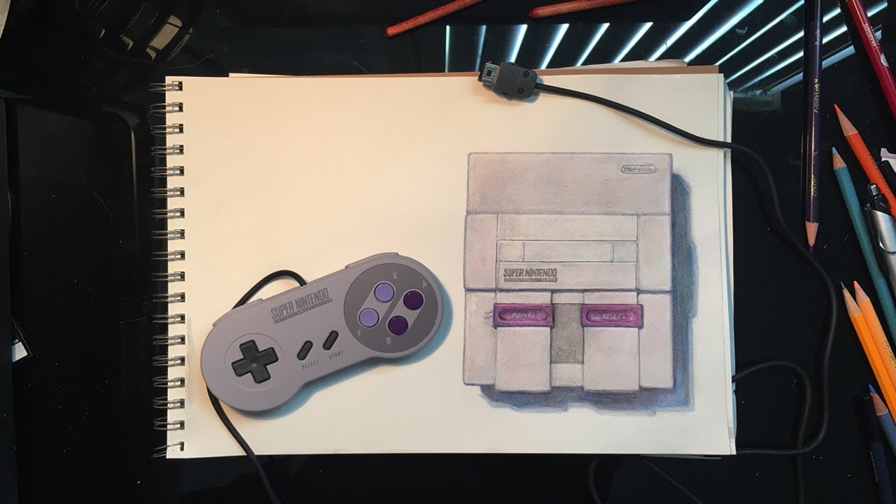 Realism Drawing Challenge Snes Classic Edition