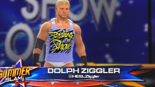 WWE 2K14 - Dolph Ziggler vs The Miz Intercontinental Championship SummerSlam