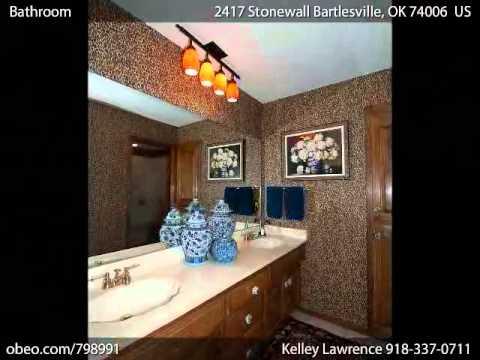 2417 Stonewall Bartlesville OK 74006 - Kelley Lawrence - McAnaw  Company Realtors