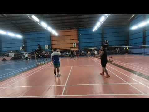 Badminton 2018 Dual meet ACN vs Globe Game 7 (part2)