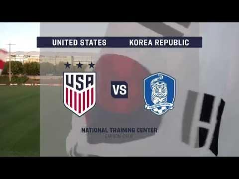 Live Video: 2016 U-20 Women's NTC Invitational: USA vs. Korea Republic