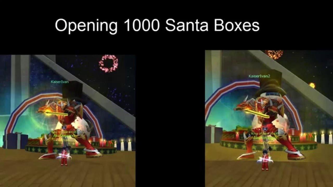 1000 santa gift boxes youtube negle Images
