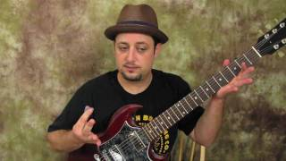Alice in Chains - Them Bones - Main Riff - Beginner Guitar Lessons Rock alternative Grunge