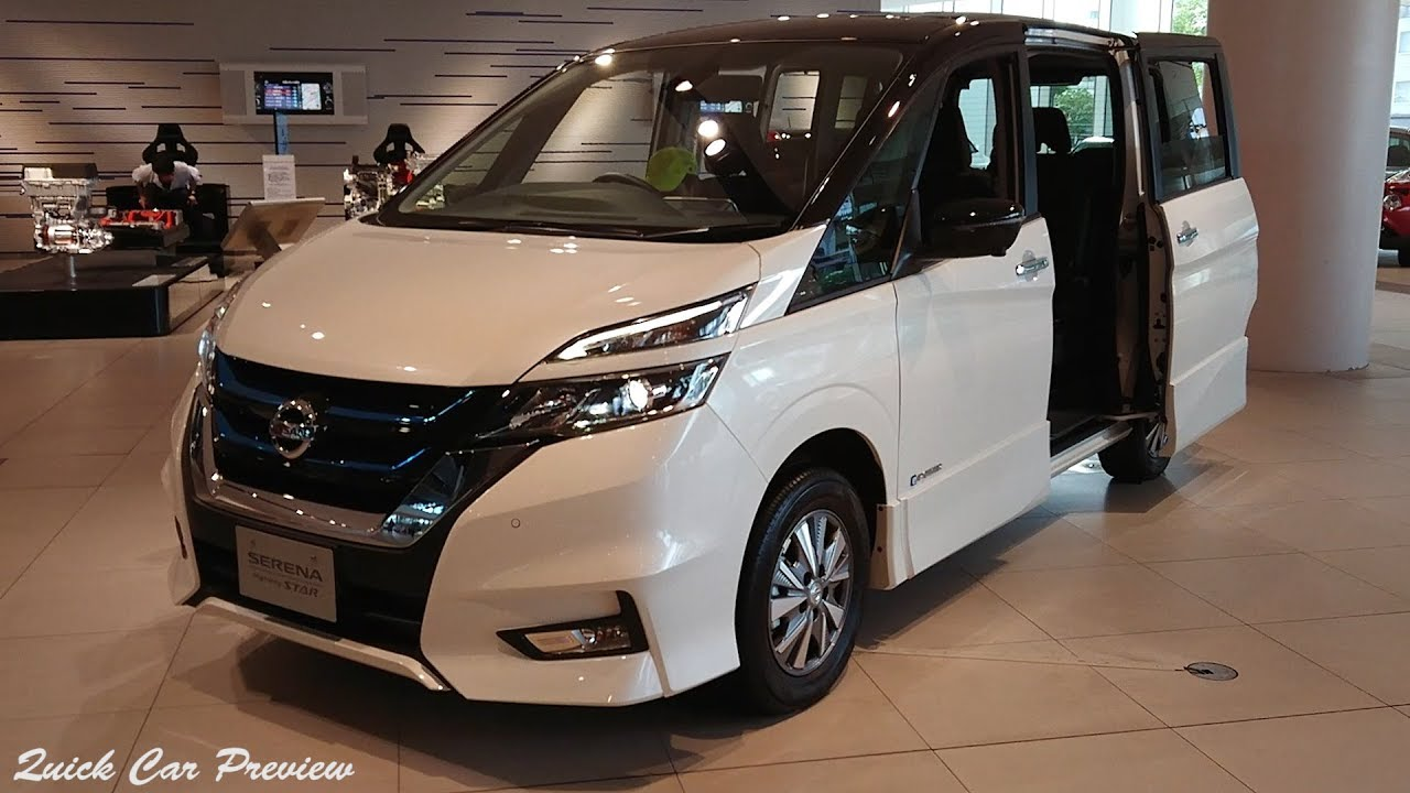 2019 Nissan Serena E-Power Highway Star V | Quick Preview - YouTube