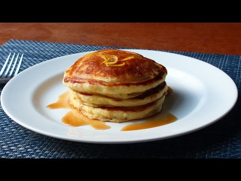 Lemon Ricotta Pancakes – Easy Lemon Pancakes Recipe