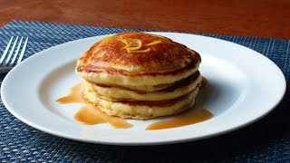 Lemon Ricotta Pancakes - Easy Lemon Pancakes Recipe