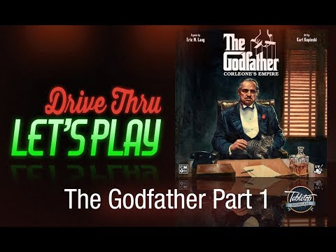 The Godfather: Corleone's Empire. A Play Through - Part 1 - Presented by Tabletop Showcase