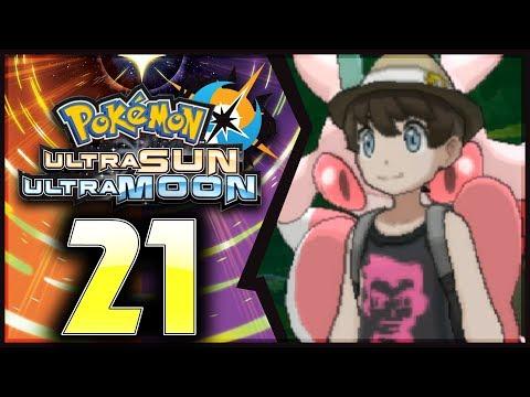 Pokemon Ultra Sun and Moon: Part 21 -  Mallow's Trial! [100% Walkthrough]