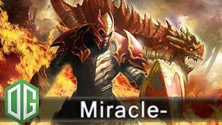 OG.Miracle- Dragon Knight Gameplay - Unranked Match - OG Dota 2