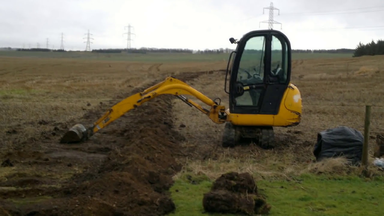 JCB Mini Diggers at Work..........Dinky Diggers (Scotland ...