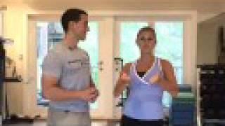 Celebrity Movie Role Shape Up Workout Video