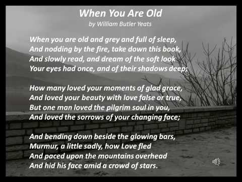 When You Are Old by William Butler Yeats, read by Colin Farrell