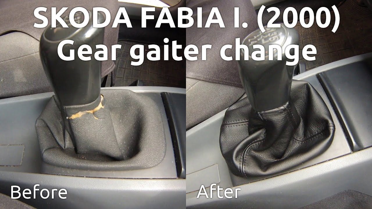 Diy How To Change Gear Gaiter Knob In Skoda Fabia I