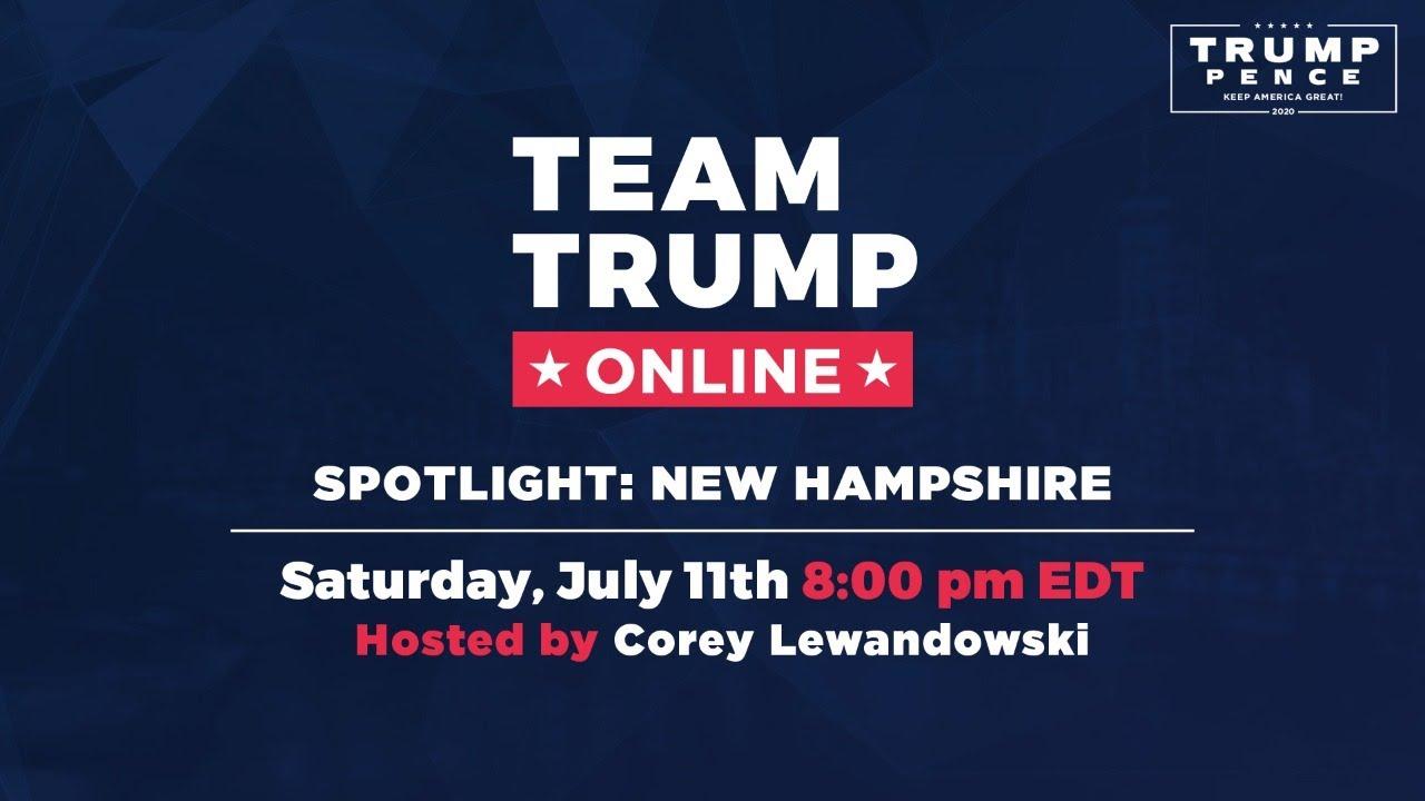 WATCH: Spotlight: New Hampshire with Corey Lewandowski, Pam Tucker, and Ray Chadwick!
