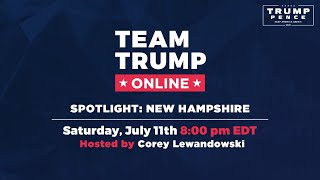 WATCH: Spotlight: New Hampshire with Corey Lewandowski, Pam Tucker, and Ray Chadwick!