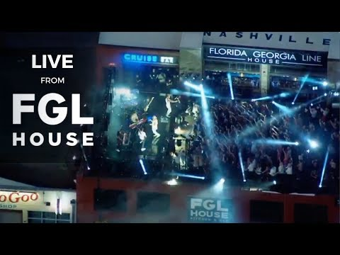 Florida Georgia Line & The Chainsmokers  from Cruise Rooftop Bar at FGL House