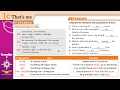 Traveller 2 module 1c 2 GRAMMAR PREPOSITIONS OF TIME + Workbook B