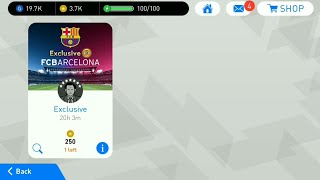 Exclusive Fc Barcelona Special Agents Pes 2018 Mobile