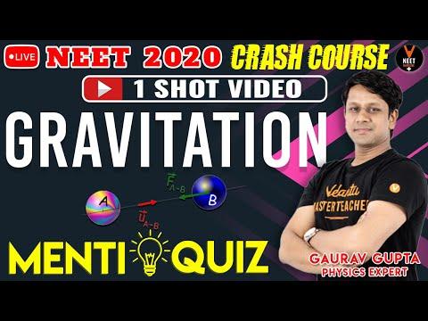 gravitation-class-11-one-shot-mcq- -crash-course-neet-2020-preparation- -neet-physics- -gaurav-sir