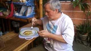 Crispy Home Fry Potatoe Sandwich Omlett  - Filipino Food