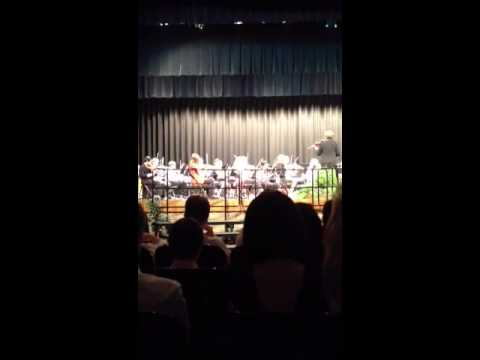 Independence middle school 8th grade Christmas concert