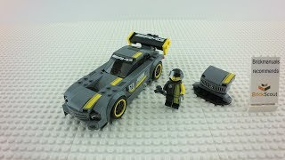 75877 LEGO® Speed Champions Mercedes-AMG GT3 Build Review 4K by Brickmanuals