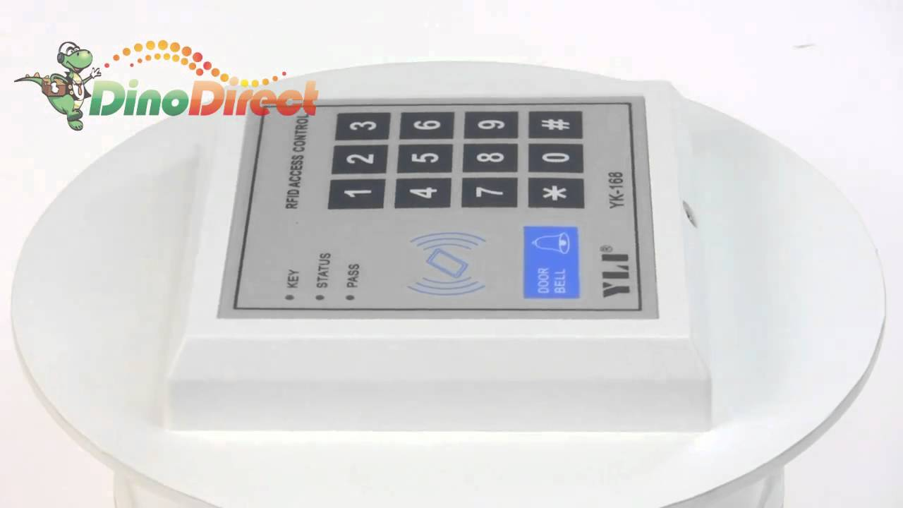 rfid digital control keypad for access control system yk 168 from youtube. Black Bedroom Furniture Sets. Home Design Ideas