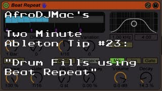 Drum Fills with Ableton's Beat Repeat