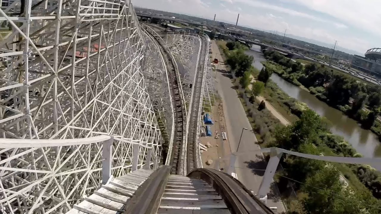 Twister Ii Elitch Gardens Hd Front Seat Pov Youtube