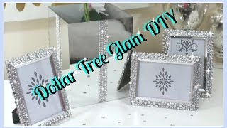 💎Dollar Tree DIY'S|| Bling Vase & Frames DIY 2017