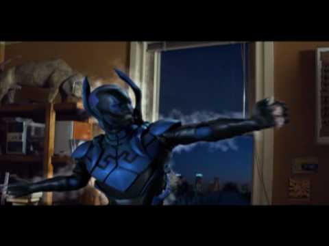 Blue Beetle live-action clip