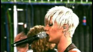 Download P!nk - 'Please Don't Leave Me' (Live on Max) MP3 song and Music Video