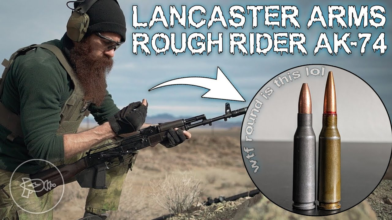 5.45 Ammo Conspiracy UNCOVERED? 🤔 Lancaster Arms AK-74! [Review]