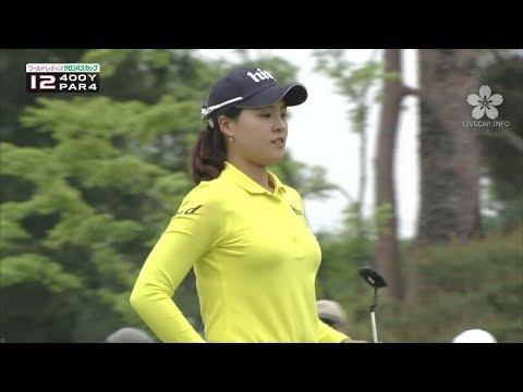 チョンインジ 女子ゴルフ 画像