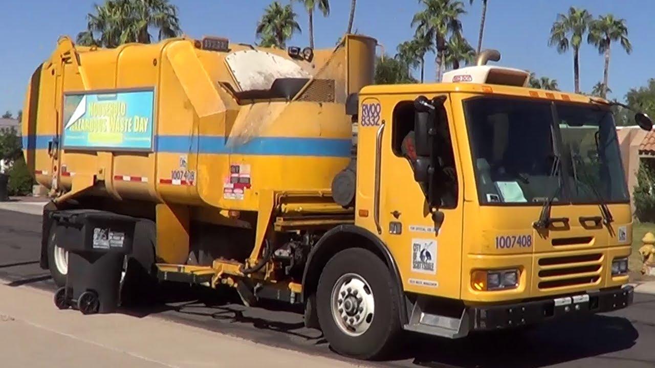 Scottsdale condor heil rapid rail garbage truck