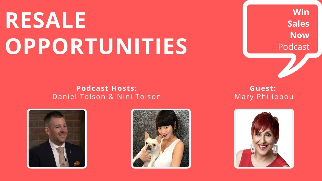 Podcast and Webinar:  Resale Opportunities