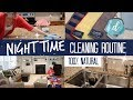 NIGHT TIME CLEANING ROUTINE (all natural!) 💙 feat. E-Cloth and Ace Hardware