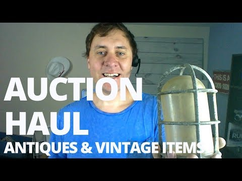 E31 Estate Sale Auction Haul Antiques, Vintage Items to Resell