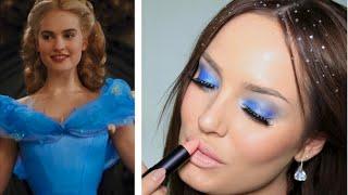 Blue Eyeshadow? Crystals in my Hair? Cinderella Inspired Look!