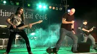 Xerath goes dynamite at Kohima Metal Fest festival in India!