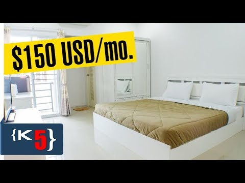 My CHEAP $150/mo. apartment in Isaan Thailand | How to find apartment guide