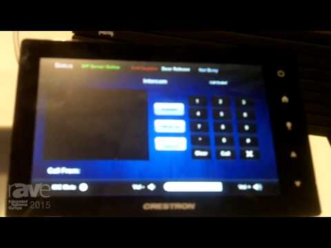 ISE 2015: Fasttel Shows Door Entry Panel Connected to iPad, Android, and Crestron Display