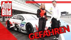 Fabian Vettel im RS 5 DTM (2019): Auto - Track Test - Interview
