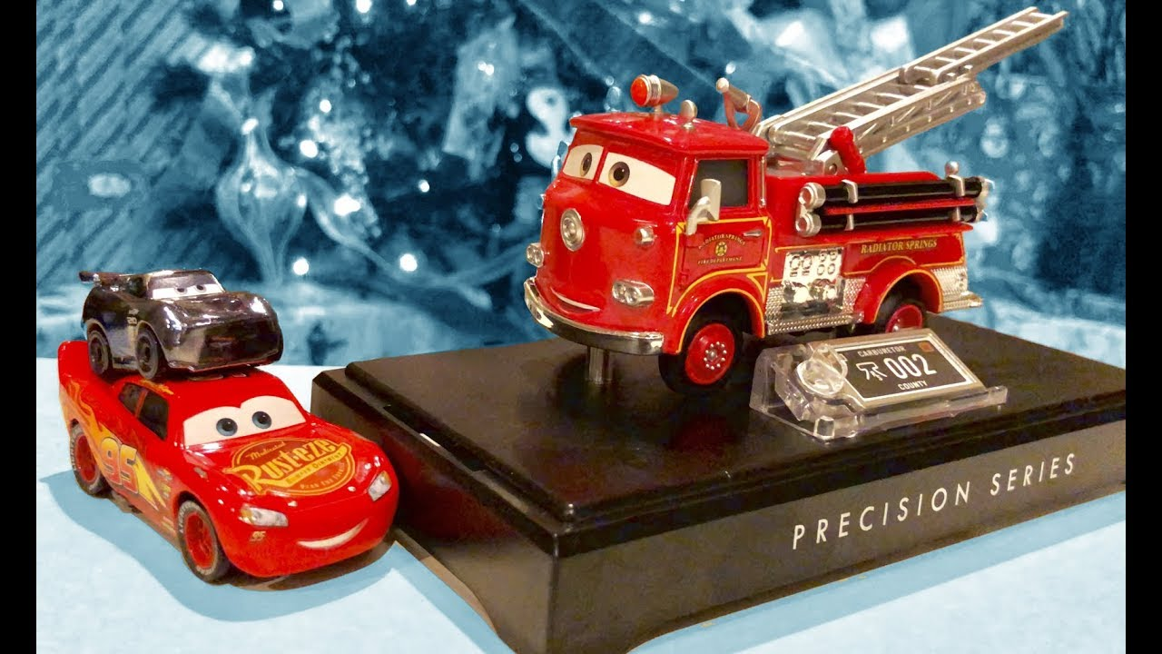New Disney Cars 3 Toys & Special News - Disney Pixar Cars Precision Series RED Fire Truck for Ki