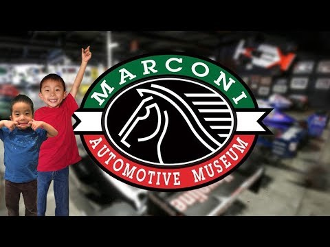 Marconi Automotive Museum (Best Hidden Museum in Orange County): Traveling with Kids