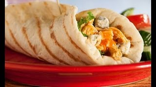 Grilled Buffalo Chicken Wrap